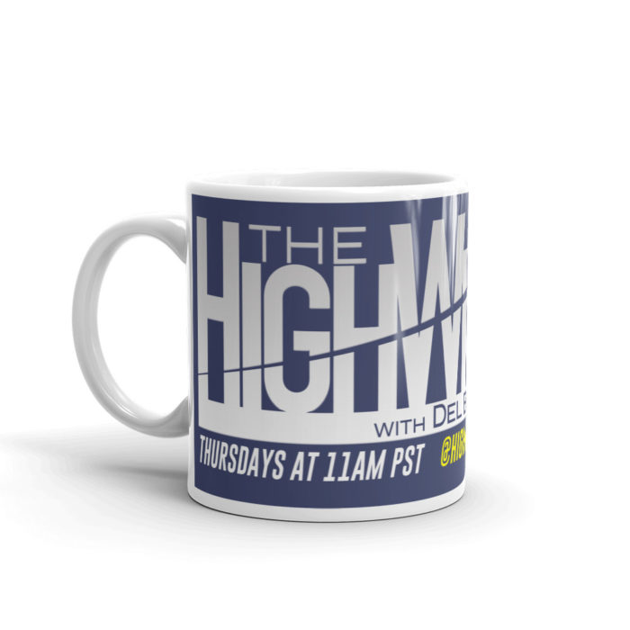 The HighWire Mug with Del Bigtree